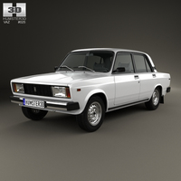 VAZ Lada 2105 1997 3D Model