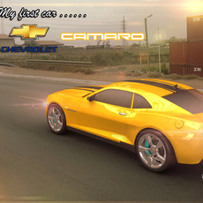 Chevrolet Camaro Rig v3 for Maya 3.0.0