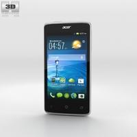 Acer Liquid Z4 White 3D Model