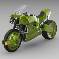 Offroad motorcycle concept 3D Model