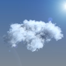 Clouds, 3d voxel grid 3D Model