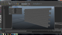 Free BrickWallBuilder for Maya 1.0.0 (maya script)