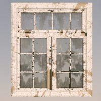 Old dirty window 3D Model