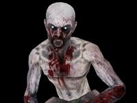 Speed Zombie Animated 3D Model