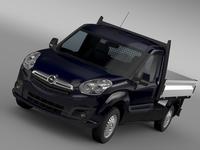 Opel Combo Tipper 2015 3D Model