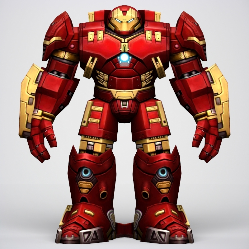 iron man hulkbuster armor 3d model