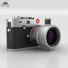 Leica M (Type 240) Silver 3D Model