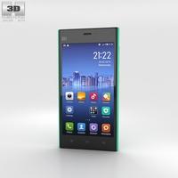 Xiaomi MI 3 Green 3D Model