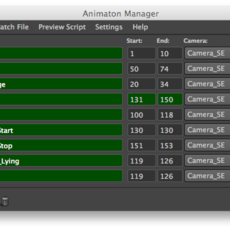 Animation Manager for Maya 1.0.6 (maya script)