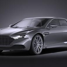 Aston Martin Lagonda 2016 VRAY 3D Model
