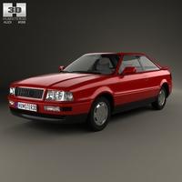 Audi Coupe 1991 3D Model