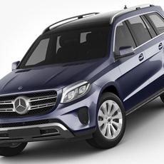 Mercedes GLS 2017 3D Model