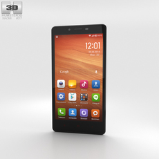 Xiaomi Redmi Note White 3D Model