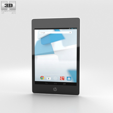 HP Slate 8 Pro White 3D Model