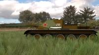 SU 100 Tank Destroyer HDRI Camo 3D Model