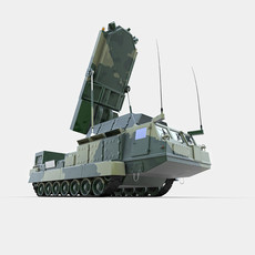 Antey 2501 3D Model
