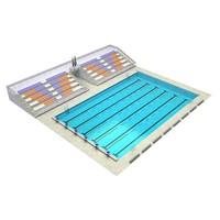 Arena pool 3D Model
