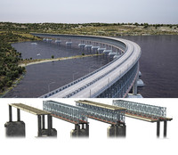 Bridge Construction 3D Model