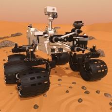 Curiosity Rover Mars 3D Model