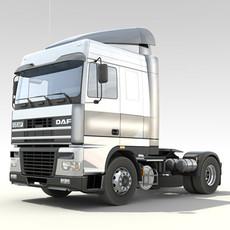 DAF-95 XF Truck 3D Model