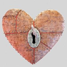 Heart piece animated 3D Model