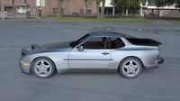 Porsche 944 Turbo S with interior HDRI 3D Model
