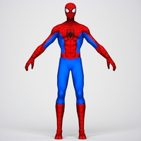 Game Ready Superhero Spider Man 3D Model