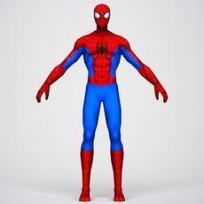 Game Ready Superhero Spider Man 3D Model
