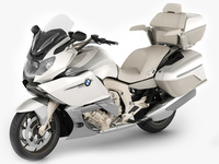 BMW K1600 GTL 3D Model