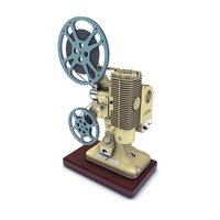 Old 8mm projector Vray 3D Model