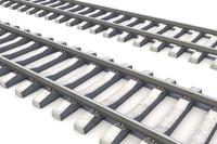 RailRoad way 3D Model