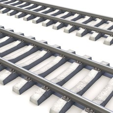 RailRoad way 3D Model