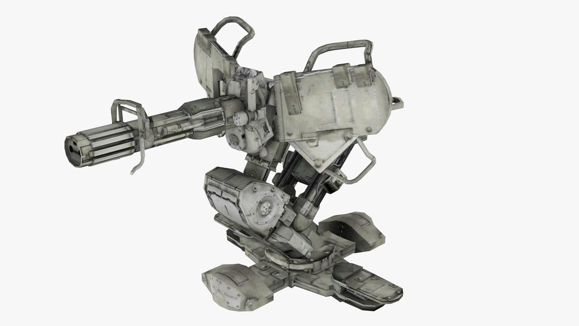 turret machine guns