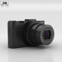 Sony Cyber-shot DSC-RX100 II 3D Model