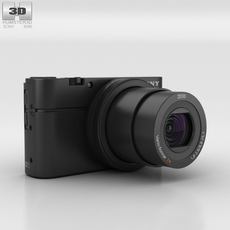Sony Cyber-shot DSC-RX100 III 3D Model