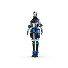 Sci-Fi Female Character 2 3D Model