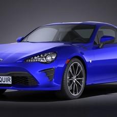 Toyota GT86 2017 3D Model