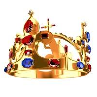 Woman crown 3D Model