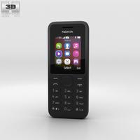 Nokia 130 Black 3D Model