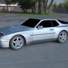 Porsche 944 Turbo S HDRI 3D Model