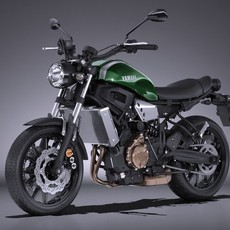 Yamaha XSR700 2016 3D Model