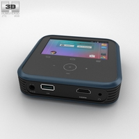 ZTE MF97A: Android-powered Wi-Fi hotspot 3D Model