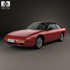 Nissan 240SX 1989 3D Model