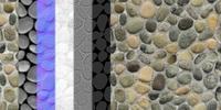Free Seamless pebble texture