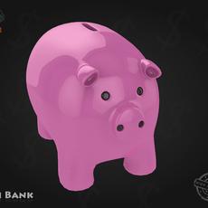 Piggy Bank 3D Model