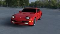 Porsche 944 new HDRI 3D Model