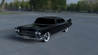 1959 Cadillac Eldorado 62 Series Coupe HDRI 3D Model