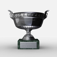 Roland Garros Mens Trophy 3D Model