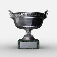Roland Garros Mens Trophy 3D Model