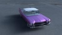 1959 Cadillac Eldorado Biarritz Top HDRI 3D Model